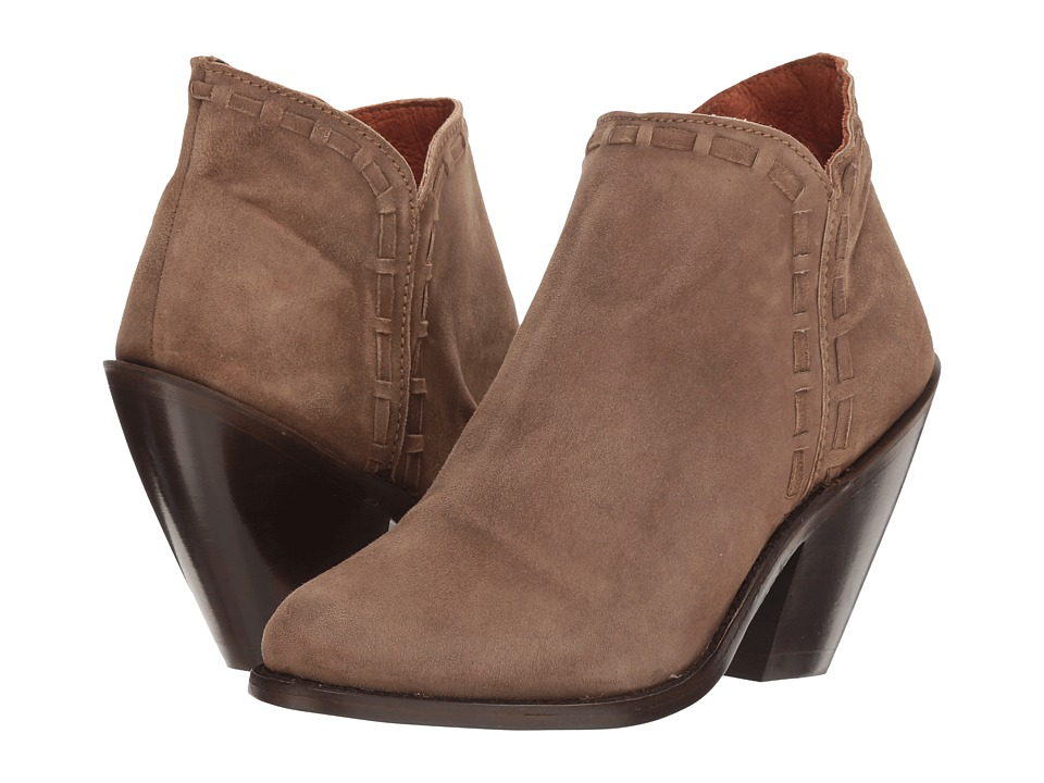 Dan Post Marlena (Olive Nubuck Fashion Round) Cowboy Boots