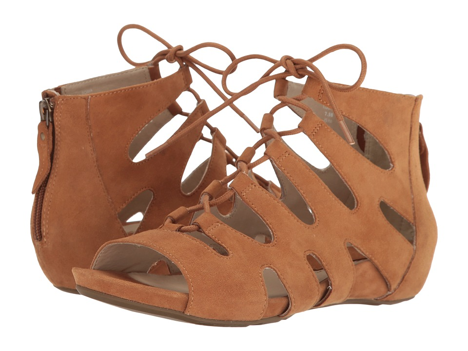Earth - Roma Earthies (Cognac Suede) Women's Shoes