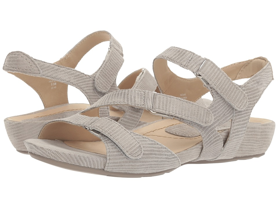Earth - Nova Earthies (Pale Grey Printed Suede) Women's Shoes