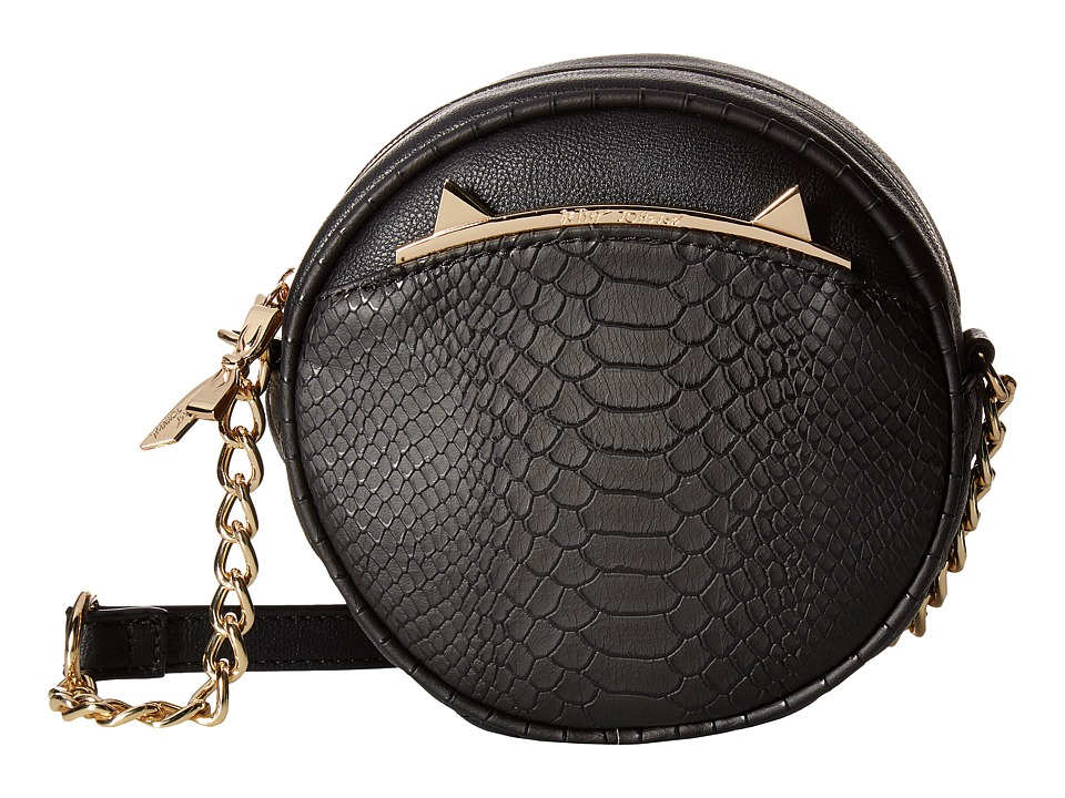 Betsey Johnson - Cat's Meow Crossbody (Black) Cross Body Handbags