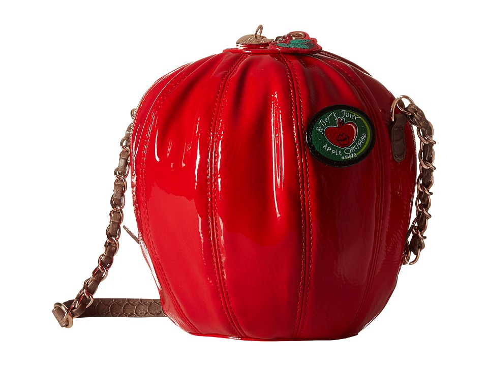 Betsey Johnson - Hard Core Crossbody (Red) Cross Body Handbags