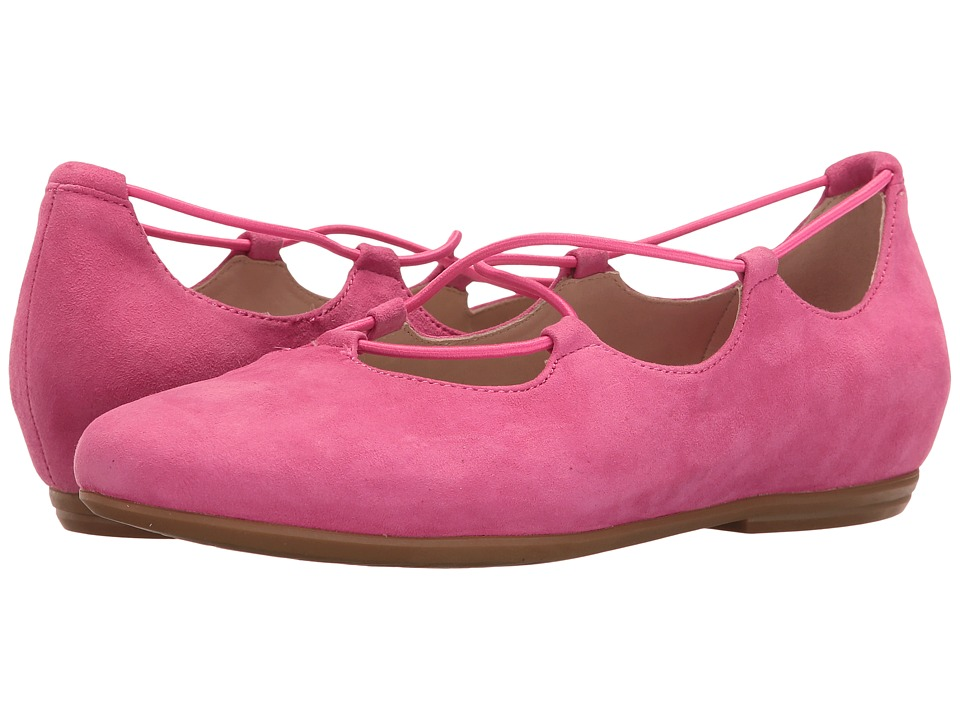 Earth - Essen Earthies (Bright Pink Suede) Women's Flat Shoes