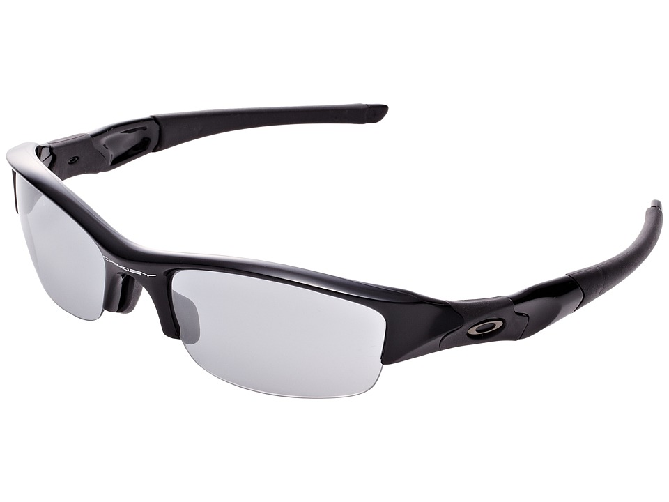 Oakley - Flak Jacket (Jet Black w/Slate Iridium) Sport Sunglasses