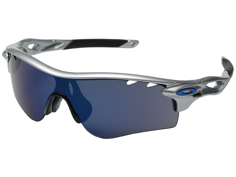 Oakley - Radarlock Path (Silver/Ice Iridium) Sport Sunglasses