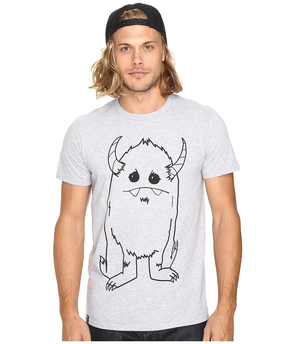 Depressed Monsters - Yerman Premium Tee (Heather Grey) T Shirt