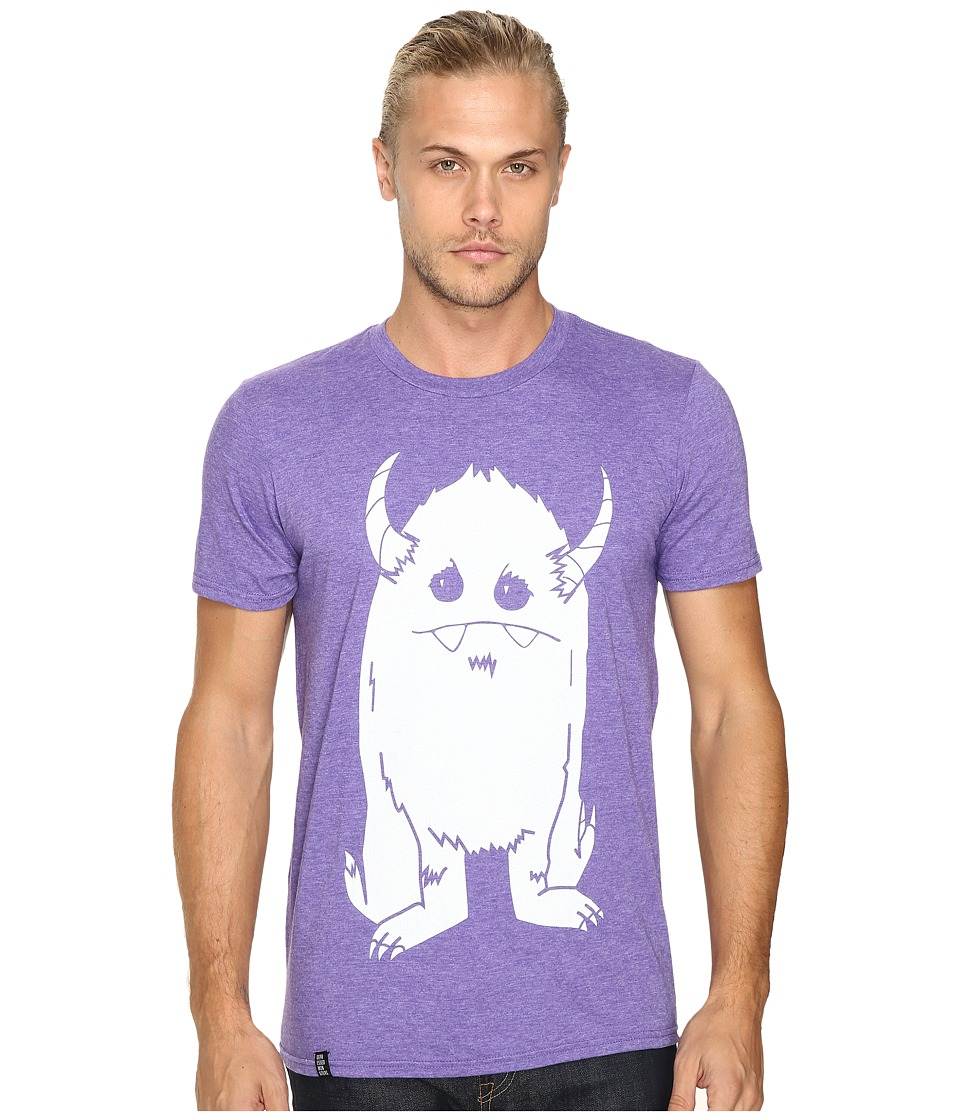 Depressed Monsters - Yerman Premium Tee (Heather Purple) T Shirt