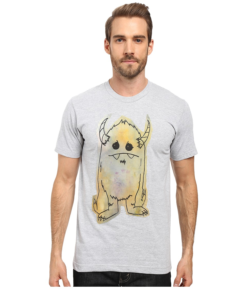 Depressed Monsters - Yerman Handmade Tee (Heather Grey) T Shirt