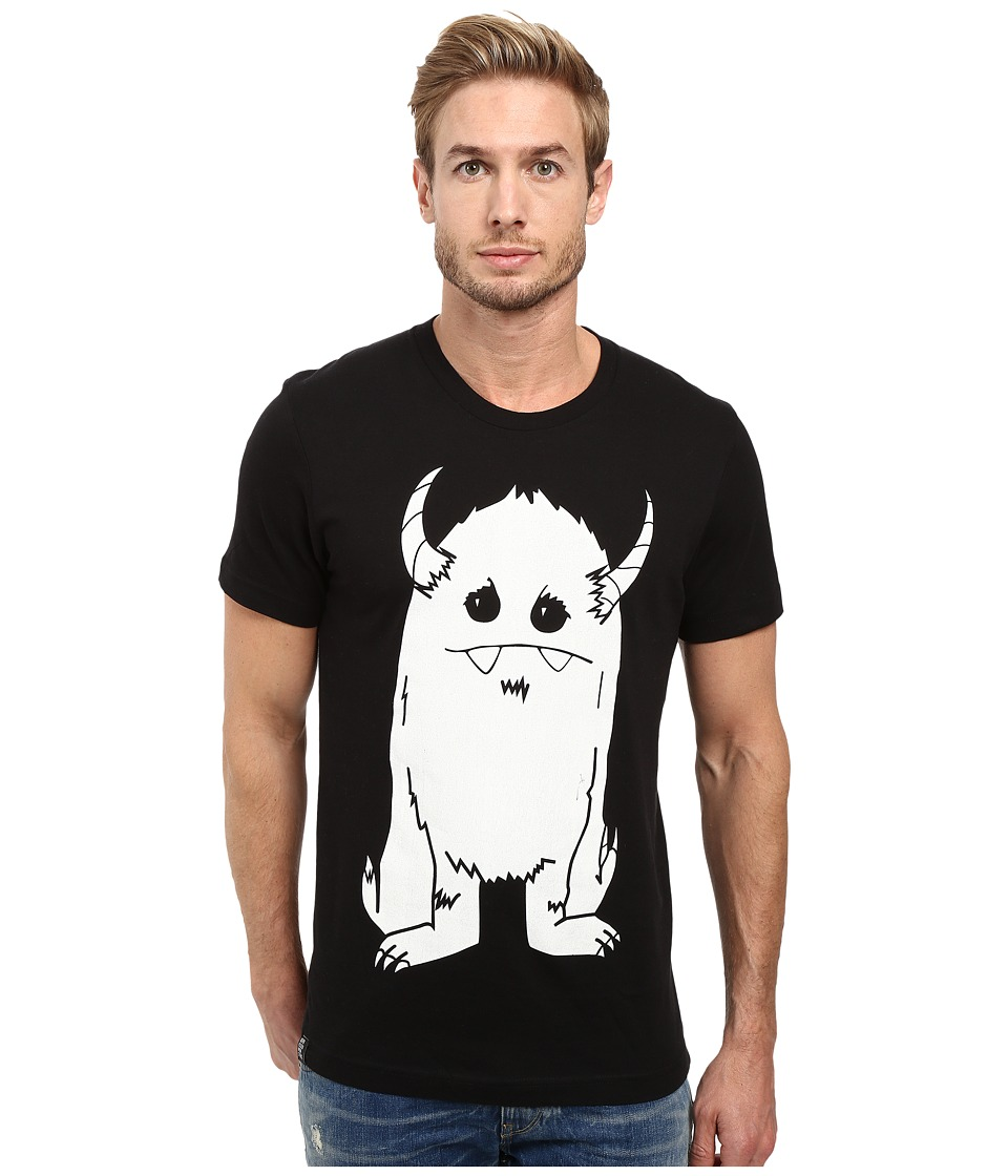 Depressed Monsters - Yerman Premium Tee (Black) T Shirt
