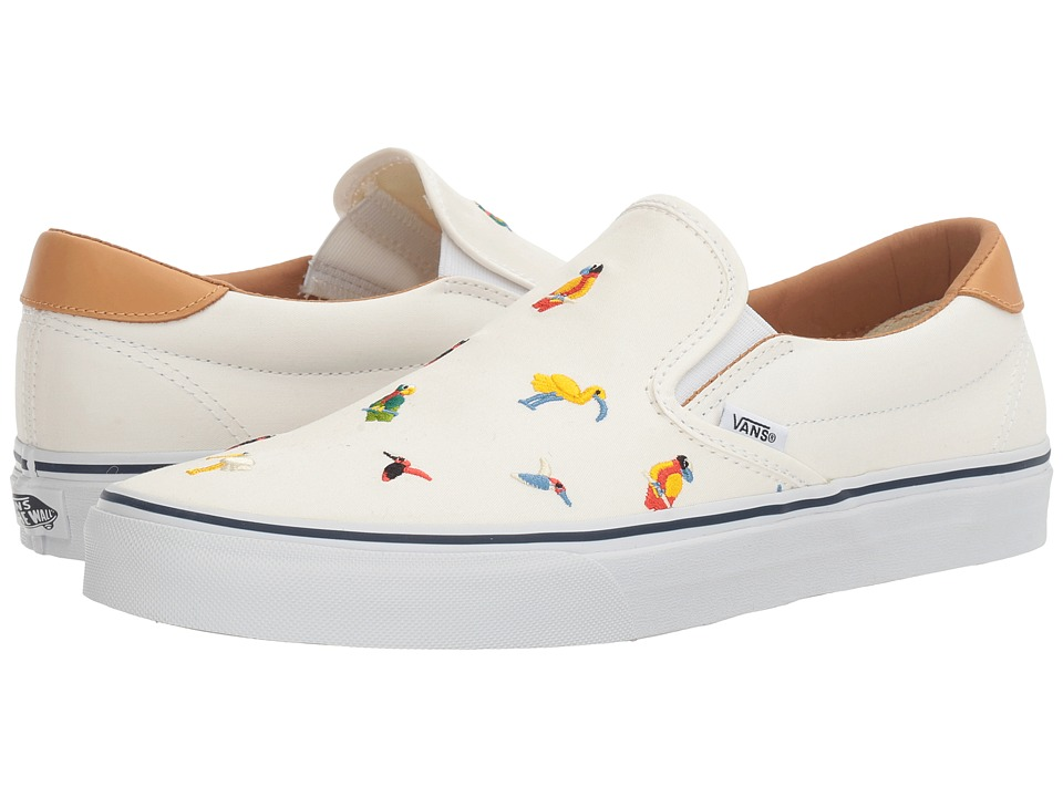 Vans - Slip-On 59 ((Bird Embroidery) True White) Skate Shoes
