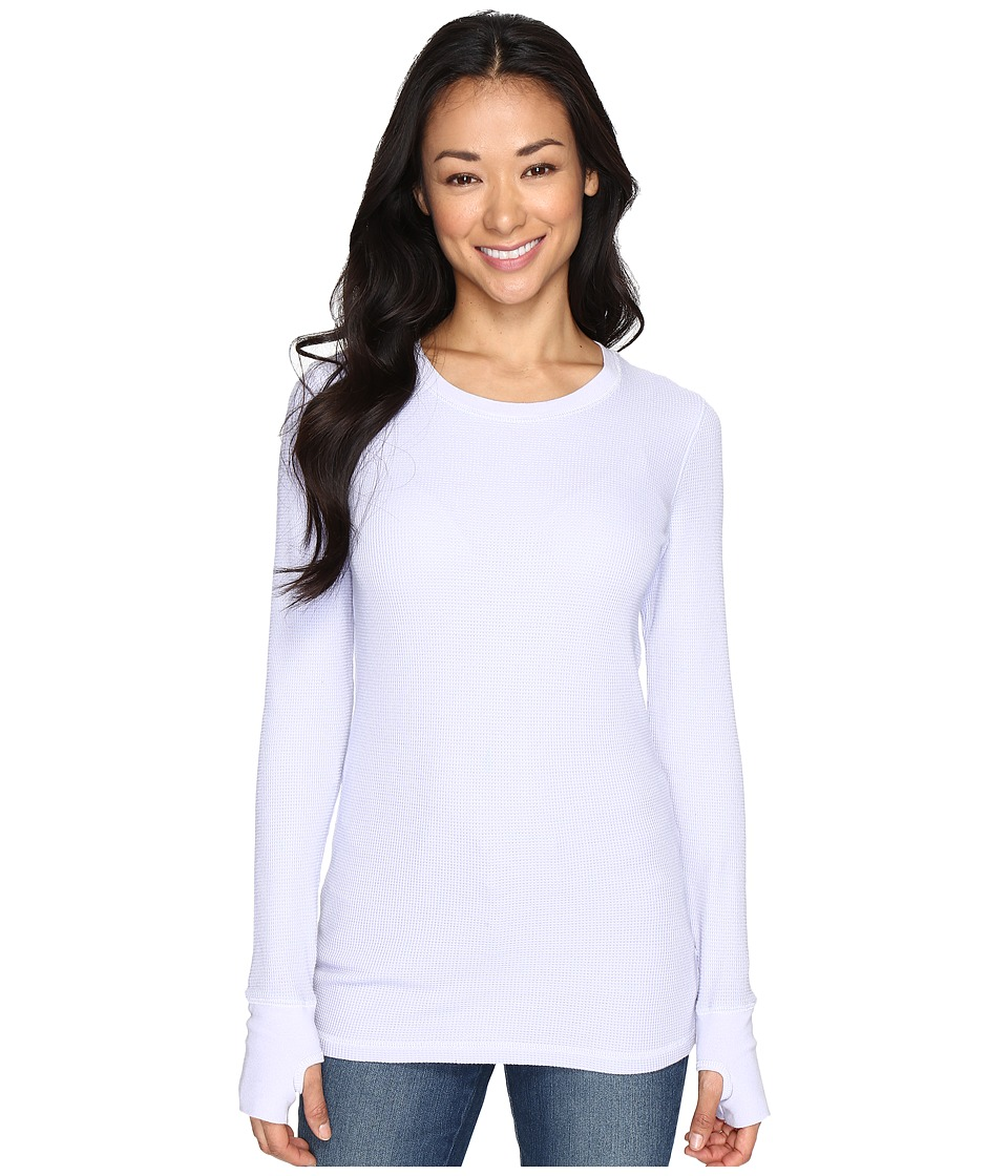 Allen Allen - L/S Thumbhole Tee (Garden Purple) Women's Long Sleeve Pullover