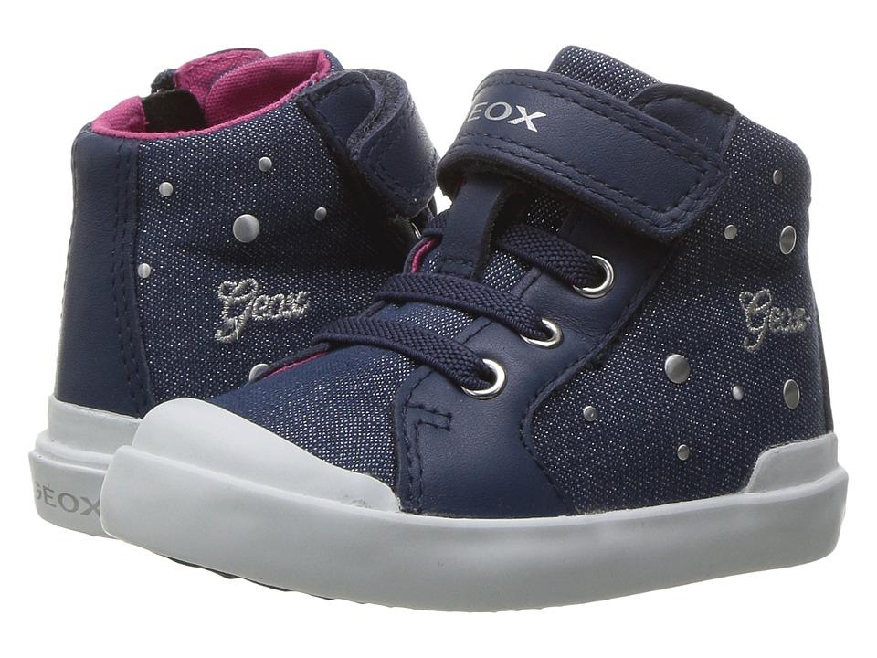 Geox Kids - Jr Kiwi Girl 88 (Toddler) (Avio) Girl's Shoes