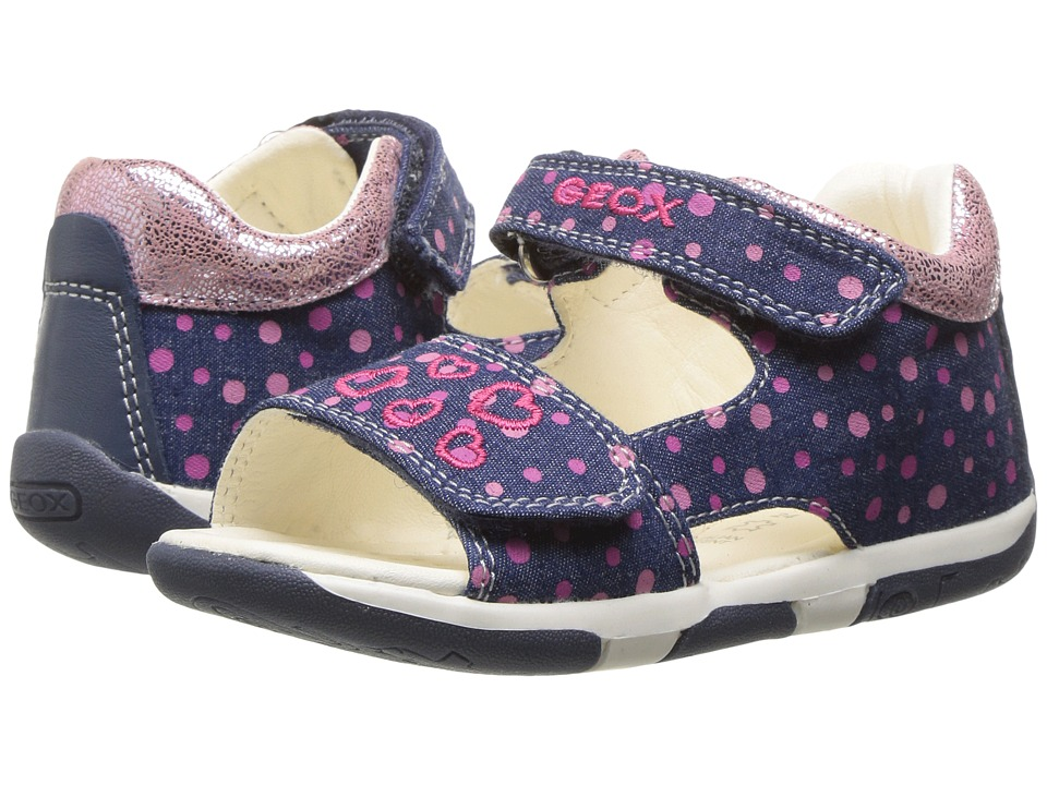 Geox Kids - Jr Sandal Tapuz Girl 2 (Infant/Toddler) (Avio) Girl's Shoes
