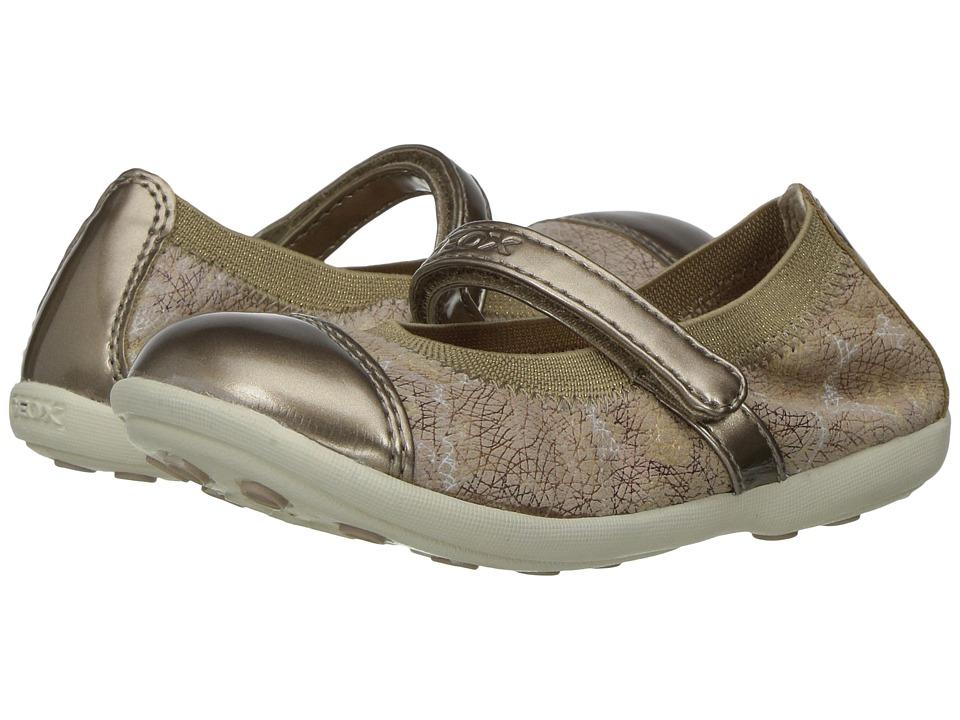 Geox Kids - Jr Jodie Girl 81 (Toddler/Little Kid) (Beige) Girl's Shoes