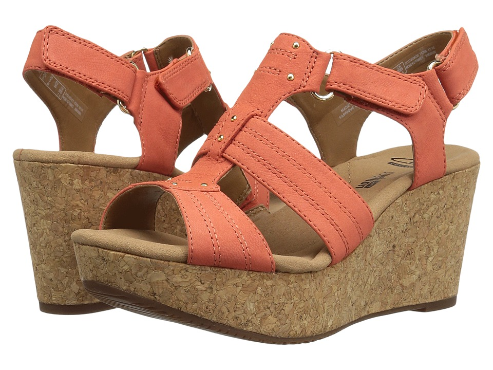 Clarks Annadel Orchid (Coral) Women