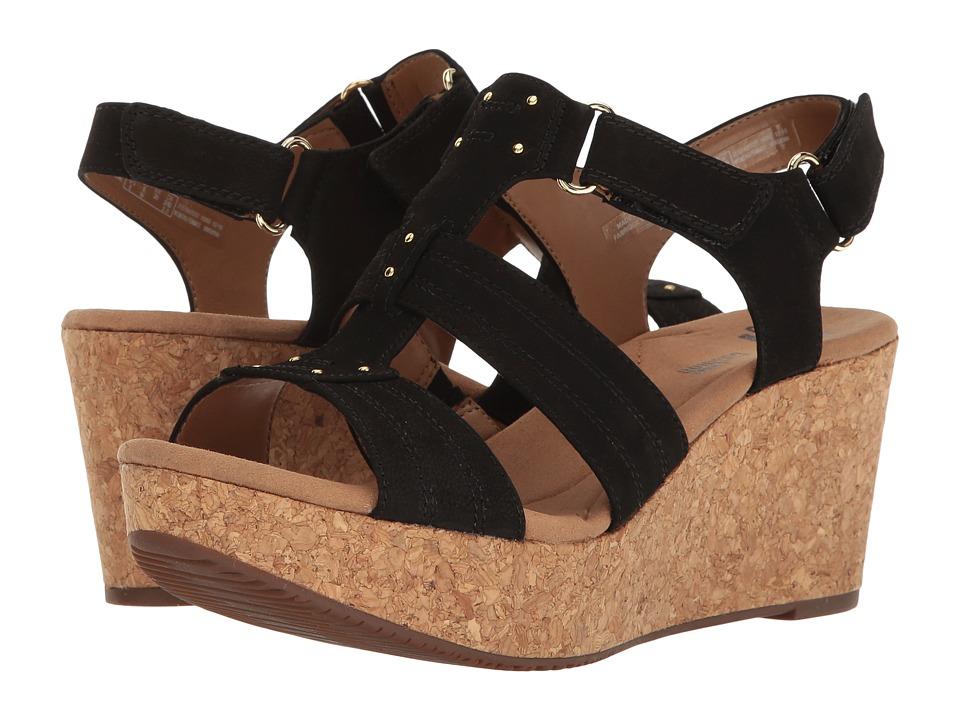 Clarks - Annadel Orchid (Black) Women's Sandals