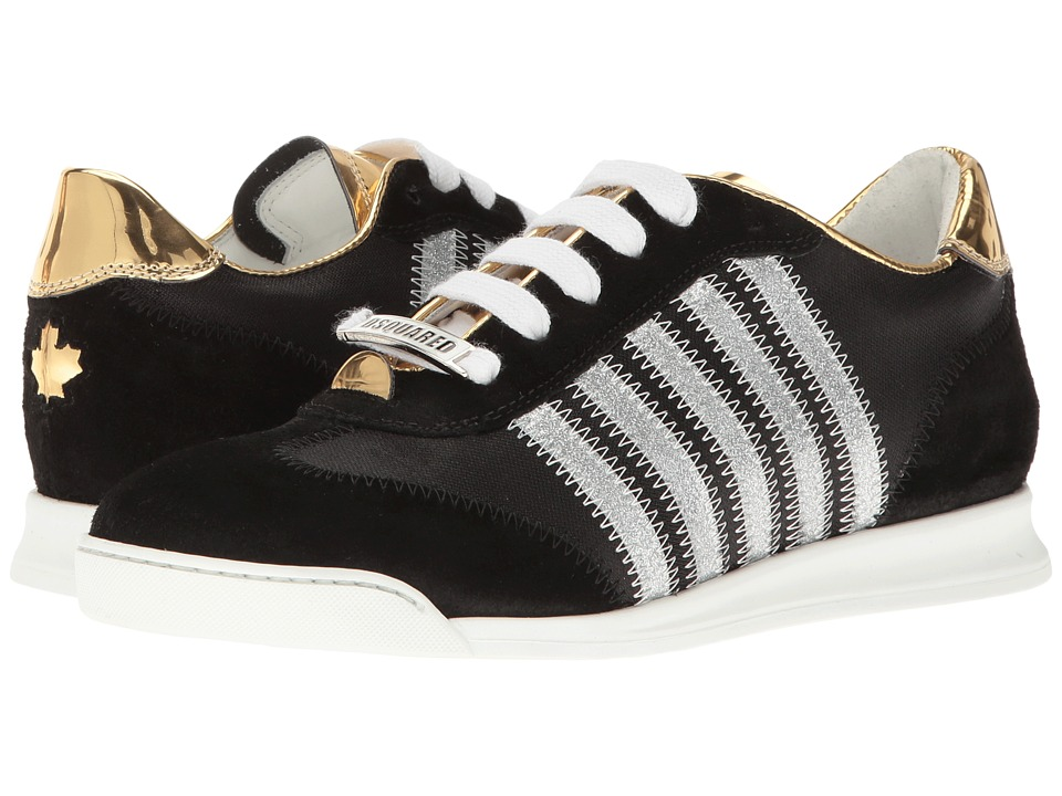DSQUARED2 - Sneaker (Nero/Oro) Women's Shoes