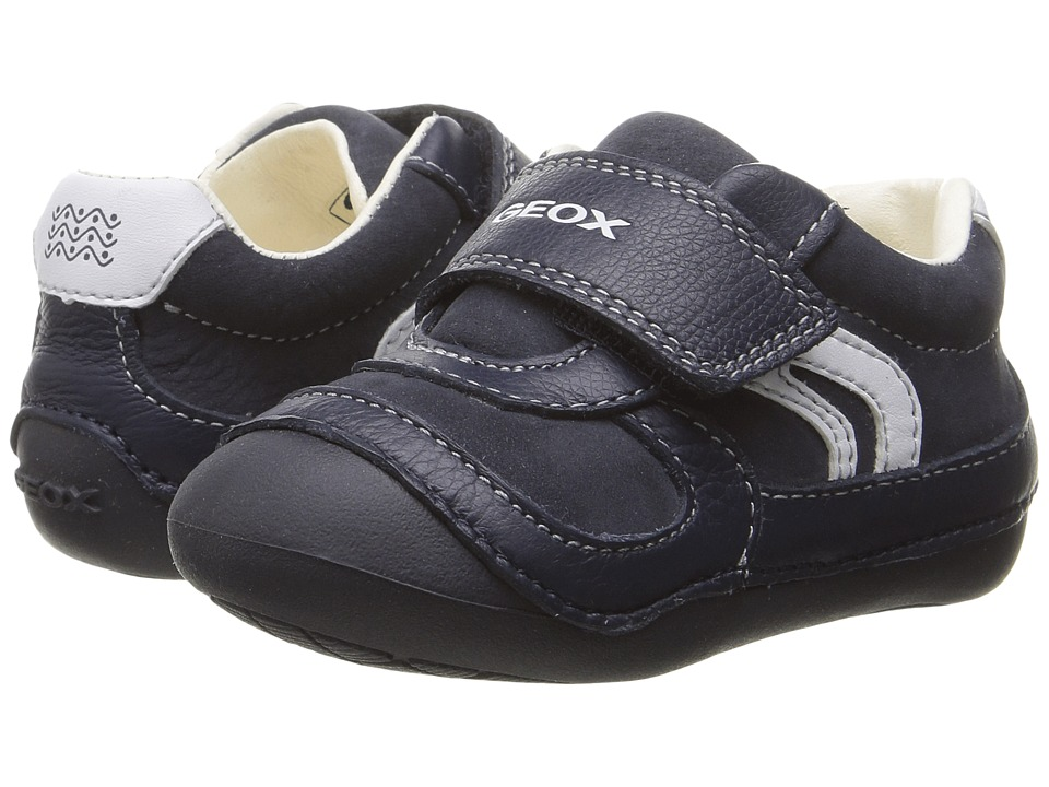 Geox Kids - Baby Tutim Boy 16 (Infant/Toddler) (Navy) Boy's Shoes