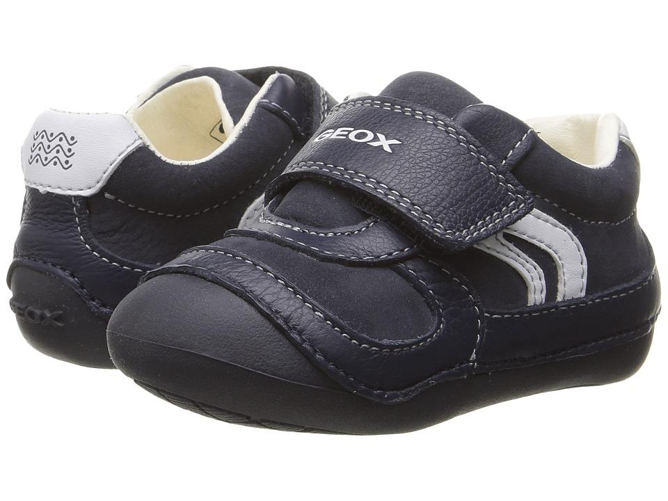 Geox Kids - Baby Tutim Boy 16 (Infant/Toddler) (Navy) Boy's Shoes