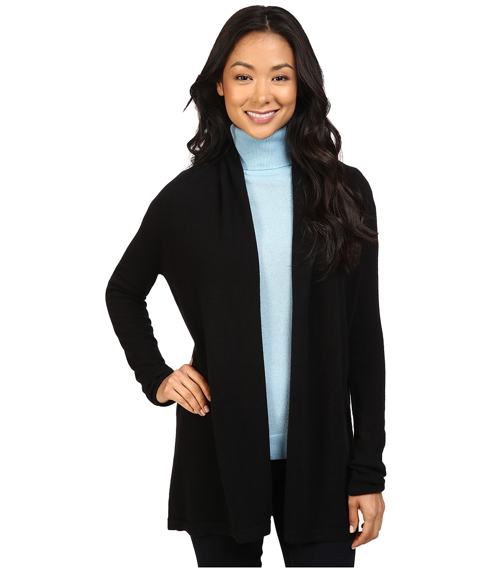 Pendleton - Petite Josephine Cardigan (Black) Women's Sweater