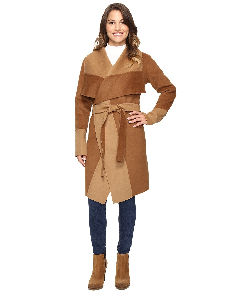 Pendleton - Petite Lorelei Double-Face Jacket (Dark Camel/Camel) Women's Jacket