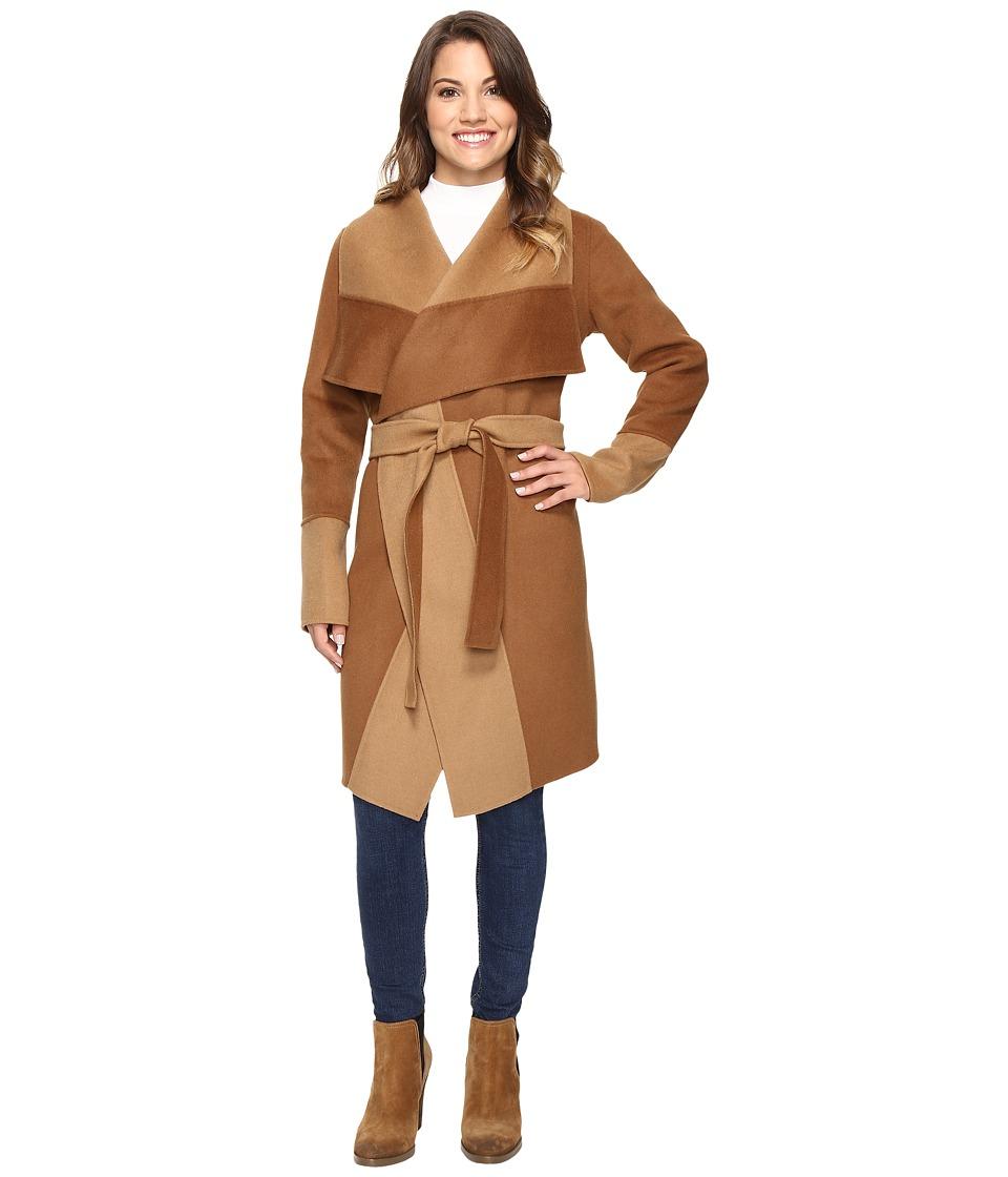 Pendleton - Petite Lorelei Double-Face Jacket (Dark Camel/Camel) Women's Jacket