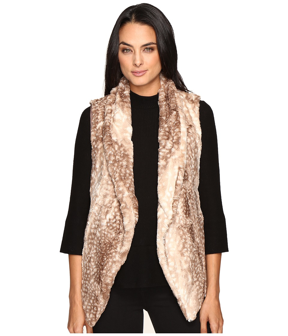 Show Me Your Mumu - Fausta Fur Vest (Faux-Ie Fawn) Women's Vest