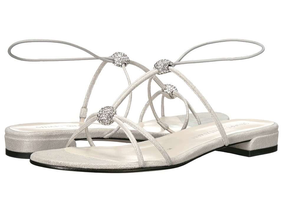 Stuart Weitzman - Tweety (Silver Cipria) Women's Shoes