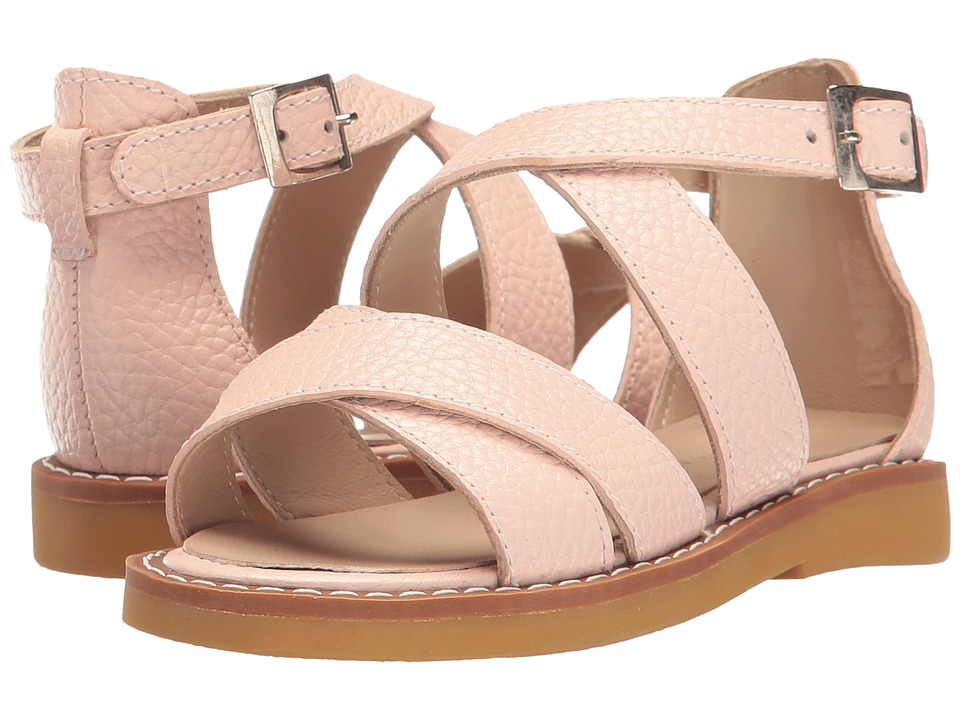 Elephantito - Cecil Crossed Sandal (Toddler/Little Kid/Big Kid) (Pink) Girls Shoes
