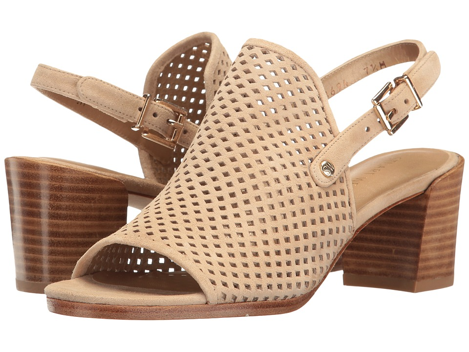 Stuart Weitzman - Popular (Beach Suede) Women's Dress Sandals