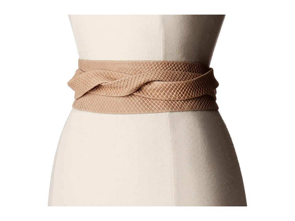 ADA Collection - Obi Classic Wrap (Bare Beige) Women's Belts