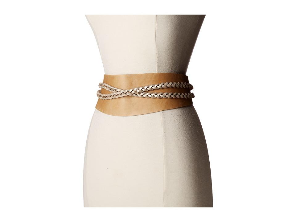ADA Collection - Dakota Belt (Camel/Gold) Women's Belts