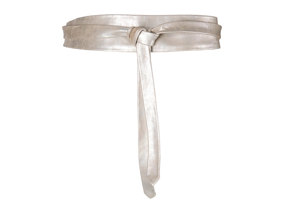 ADA Collection - Obi Classic Wrap (Silver) Women's Belts