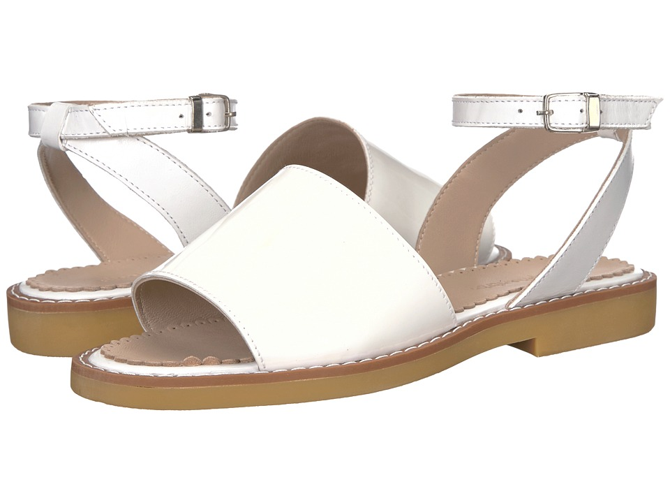 Elephantito - Olivia Sandal (Toddler/Little Kid/Big Kid) (White) Girls Shoes