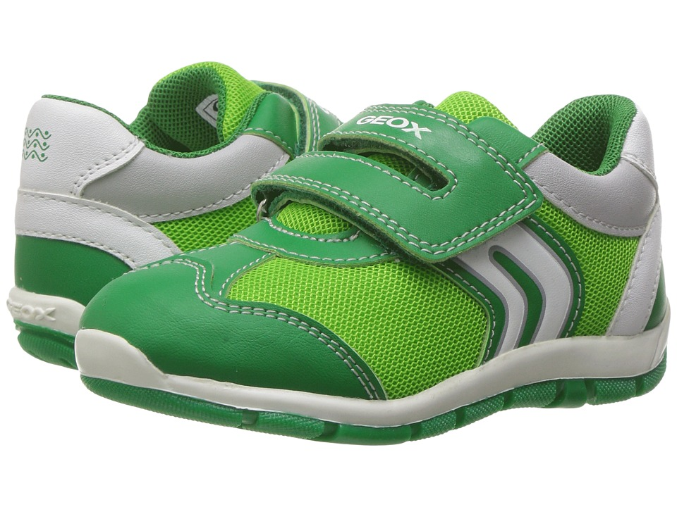 Geox Kids - Baby Shaax Boy 25 (Toddler) (Green) Boy's Shoes