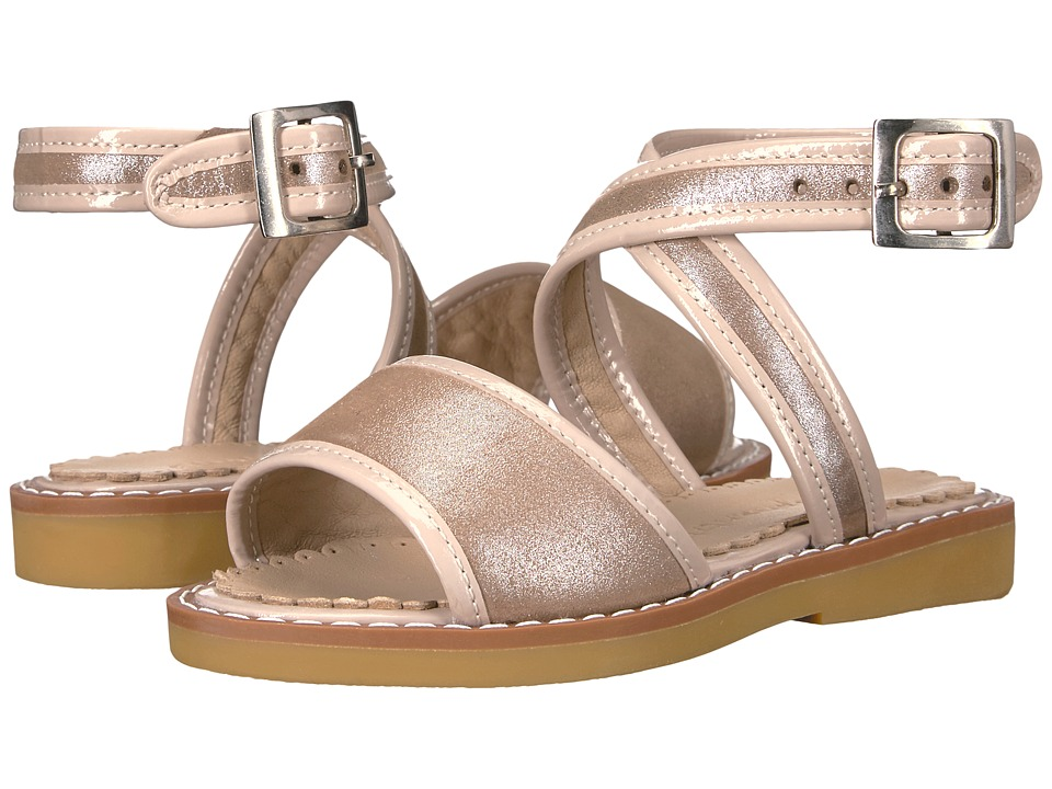 Elephantito - Valeria Sandal (Toddler/Little Kid/Big Kid) (Blush) Girls Shoes
