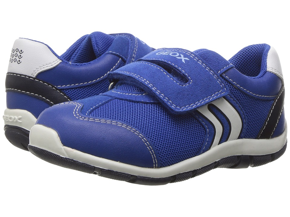 Geox Kids - Baby Shaax Boy 24 (Toddler) (Royal) Boy's Shoes