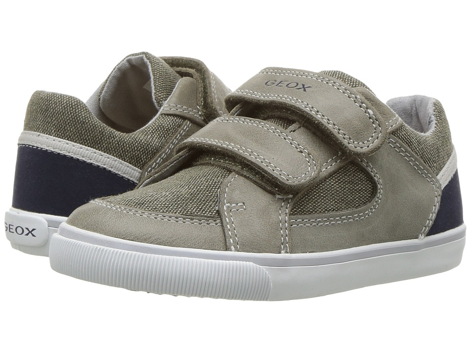 Geox Kids - Baby Kiwi Boy 83 (Toddler) (Olive/Navy) Boy's Shoes