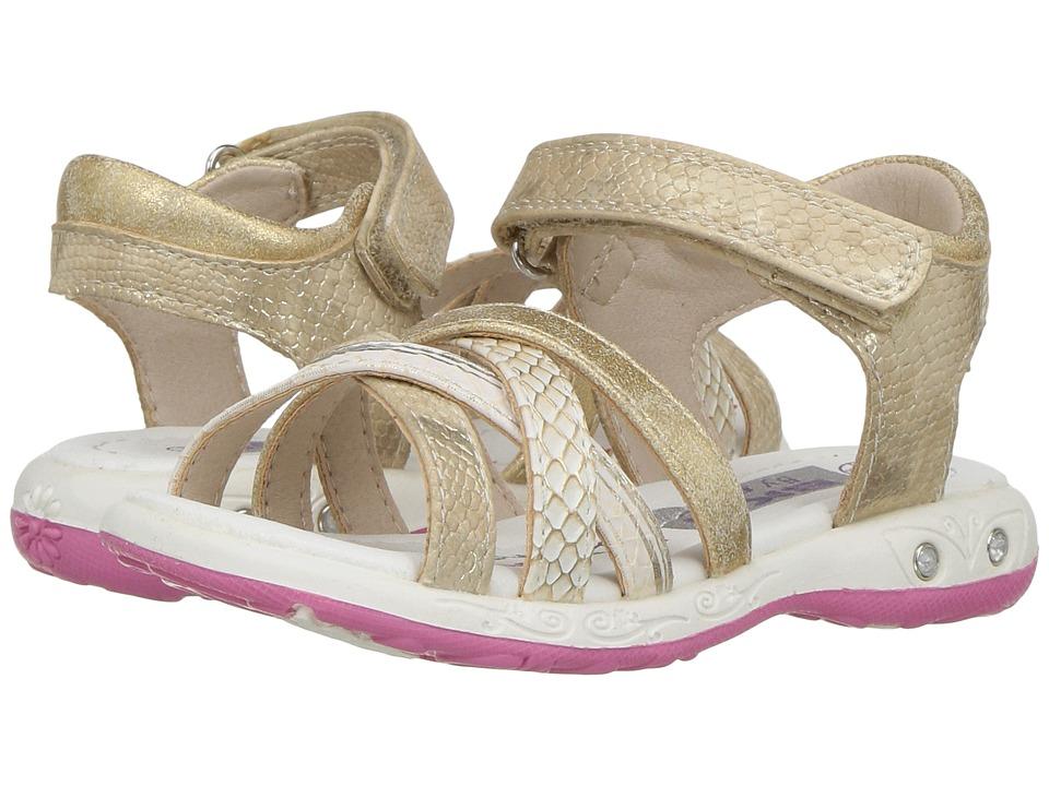 Beeko - Vicky II (Toddler/Little Kid) (Beige) Girl's Shoes