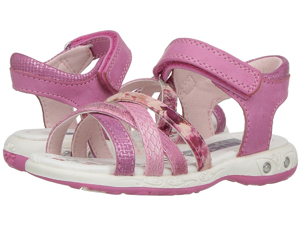 Beeko - Vicky II (Toddler/Little Kid) (Fuchsia) Girl's Shoes
