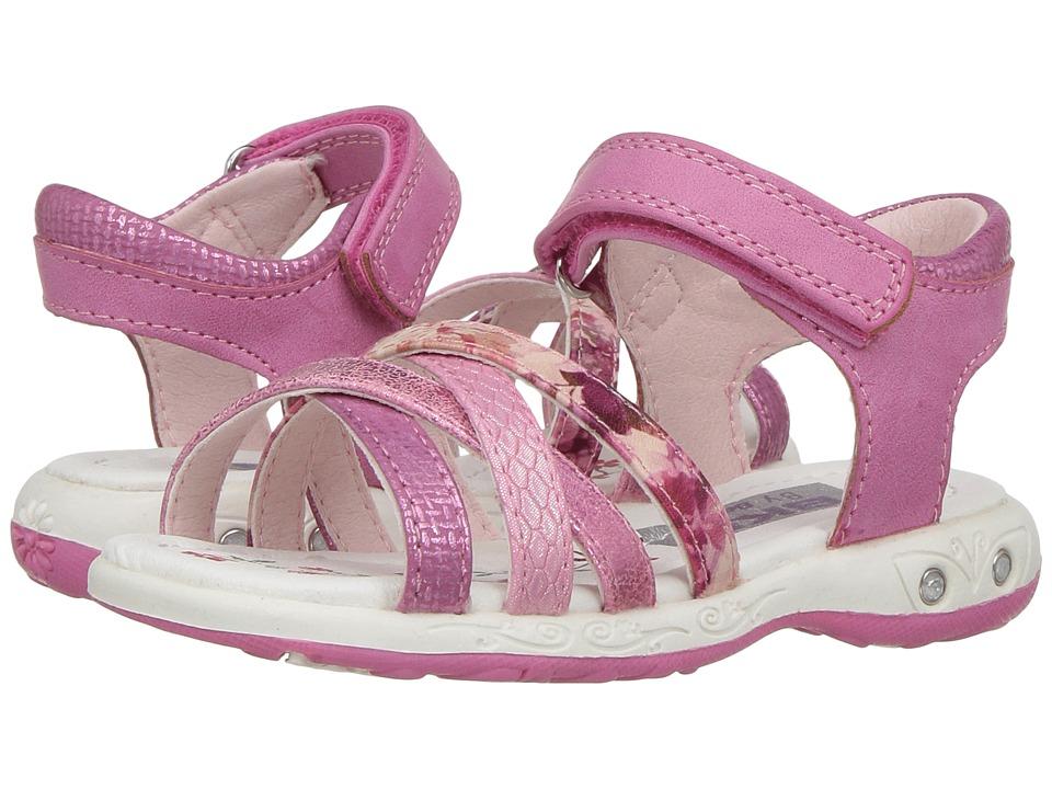 Beeko - Vicky II (Toddler/Little Kid) (Fuchsia) Girl's Shoes