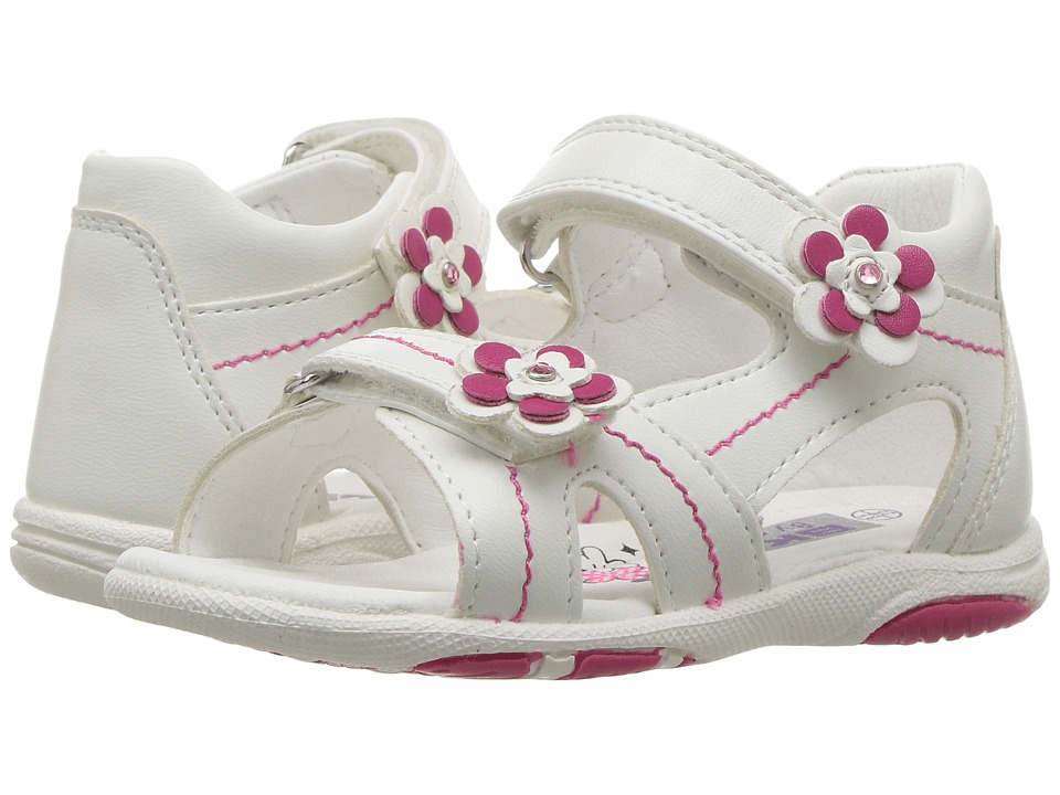 Beeko - Tam II (Toddler) (White) Girl's Shoes