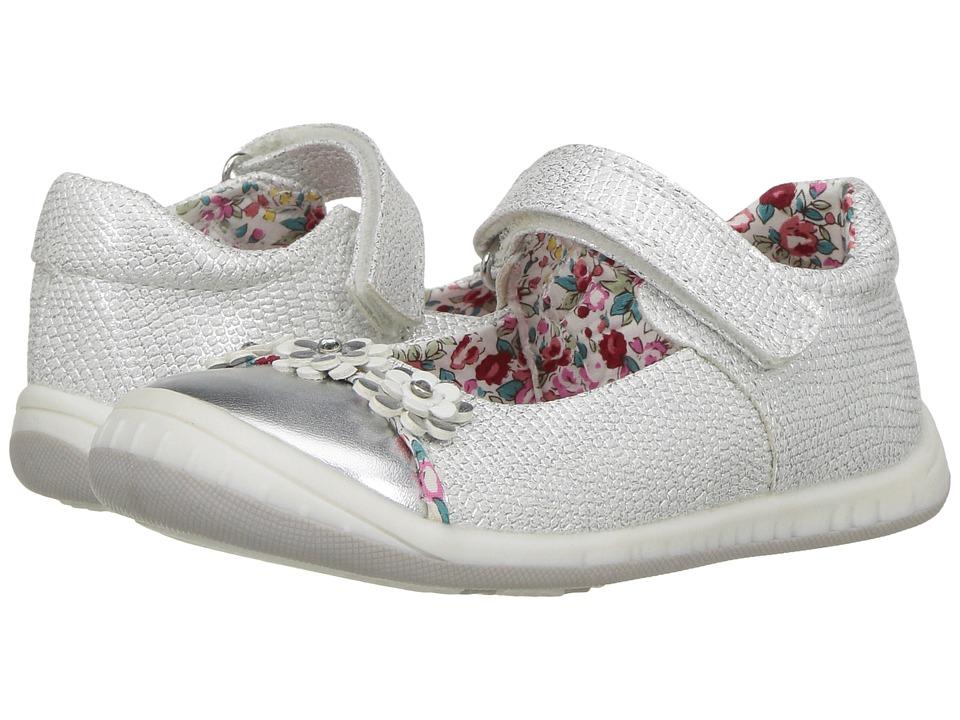 Beeko - Hai II (Toddler) (White) Girl's Shoes