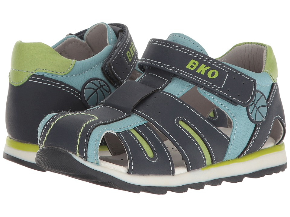 Beeko - Eagle II (Toddler) (Navy) Boy's Shoes
