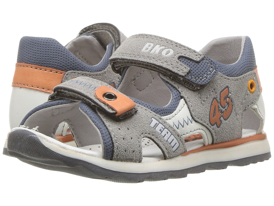 Beeko - Bach II (Toddler) (Grey) Boy's Shoes