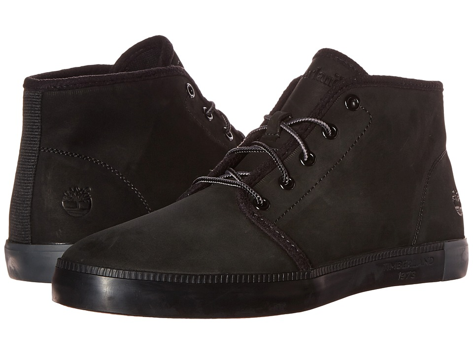 Timberland - Newport Bay Chukka (Black) Men's Shoes