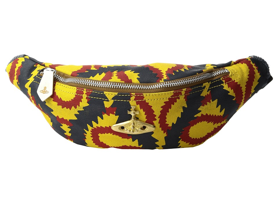 Vivienne Westwood - Africa Squiggle Bum Bag (Yellow/Red/Blue) Bags