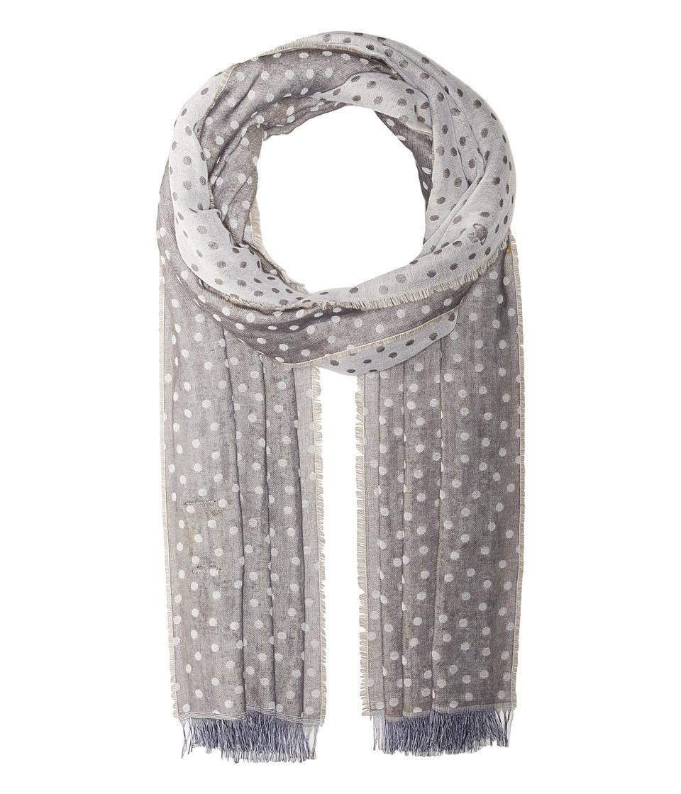 Vivienne Westwood - Dots Scarf (Grey) Scarves