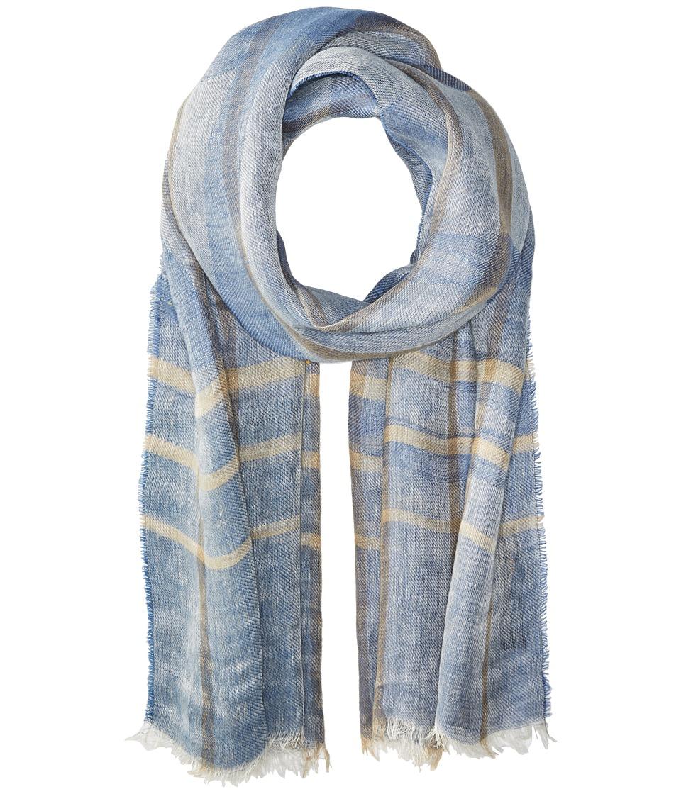 Vivienne Westwood - Stole Scarf (Denim Blue) Scarves