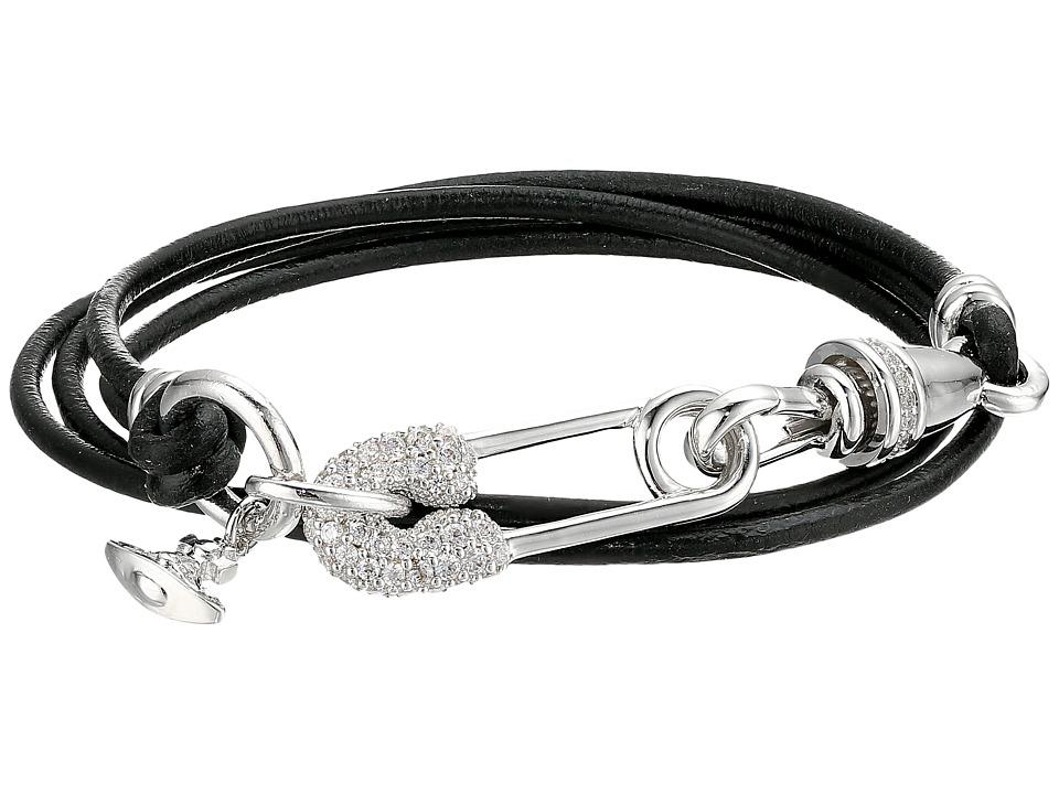 Vivienne Westwood - Clovis Wrap Bracelet (White Cubic Zirconia) Bracelet