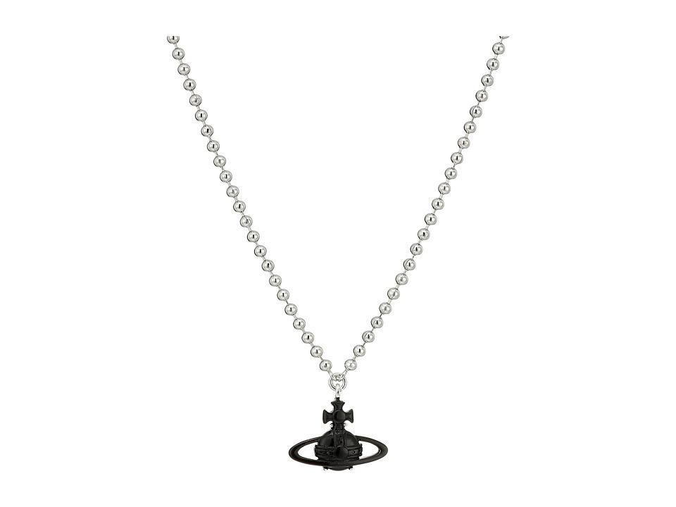 Vivienne Westwood - Suzon Pendant Necklace (Nano Black Ruthenium) Necklace